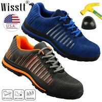 Men's Work Safety Indestructible Shoes Steel Toe Bulletproof Midsole Boots Ultra