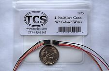 TCS Micro 4 Pin Wired Connector Quick Plug.