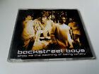 "BACKSTREET BOYS ""SHOW ME THE MEANING OF BEING LON"" CD SINGLE 3 TRACKS COMO NUEVO"