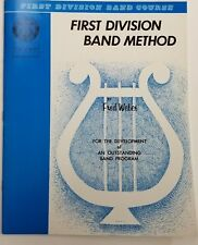 First Division Band Method Part 2 (Baritone Saxophone)