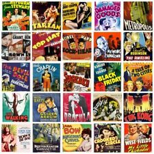 Reproduction Small (up to 12in.) Movies Art Posters