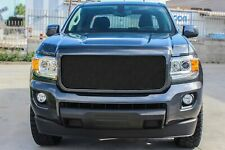 GrillCraft Black Woven Stainless Upper Mesh Grille for GMC Canyon Trucks