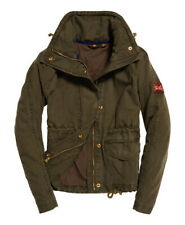 Parka chaqueta de cultivos de campo novato Superdry