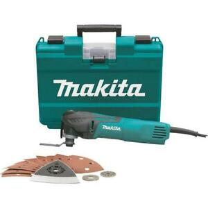 Makita TM3010CX1 3.0 Amp 3.2 Degree Multi Tool with Tool Less Blade Change
