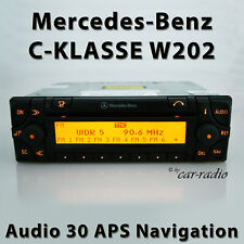 Original Mercedes Audio 30 APS W202 Navigationssystem C-Klasse S202 Radio Navi