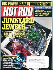 AutoWeek Magazine March 29 1999 Junkyard Jewels EX 021916jhe