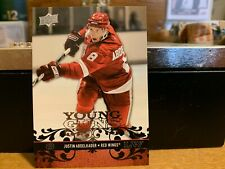 08/09 UD SERIES 1 JUSTIN ABDELKADER YOUNG GUNS RC SP ROOKIE #211