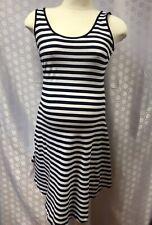 Striped maternity summer dress