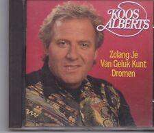 Koos Alberts-Zolang Je Van Geluk Kunt Dromen cd album