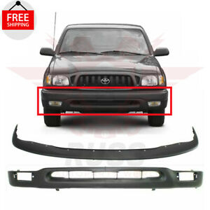 Textured Black Front Bumper Lower Valance & Bumper Filler 2001-04 Toyota Tacoma