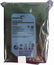 "Seagate Desktop SSHD 2000GB 2TB 3.5"" ST2000DX001 Solid State Hybrid Drive SATA3"