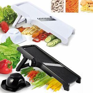 Pro Julienne Mandolin Slicer Food Cutter Fruit Vegetable Chopper Grater Peeler