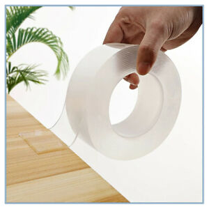 Nano Magic Transparent Tape Double Sided for Walls Carpet Home Office Car