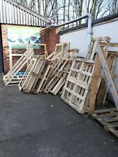 USED WOODEN PALLETS VARIOUS SIZES
