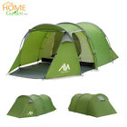 3-5 Person Waterproof Camping Tent Family Hiking Travelling Tunnel Cabin Shelter