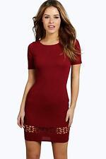 Women's Polyester Short Sleeve Petite Casual Dresses
