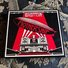 LED ZEPPELIN MOTHERSHIP box 2 x cd + DVD limited edition hard rock Robert Plant