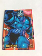 APOCALYPSE MARVEL FIGURE FACTORY SERIES 2 TRADING CARD 11