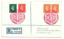 CZECH FORCES IN THE U.K-REGISTERED COVER TO LONDON EX-LEAMINGTON SPA 28.10.1941