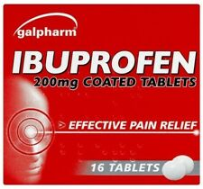 32 IBUPROFEN 200MG TABLETS - PAIN RELIEF - MIGRAINE - RHEUMATIC & MUSCULAR PAIN