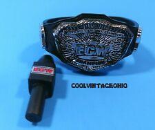 ECW Championship Belt ECW Microphone Elite Figure Accessories WWE New Style
