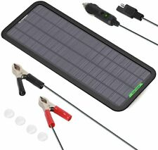 ALLPOWERS Solar 12V 5W Portable Charger Maintainer Motorcycle Tractor Boat RV