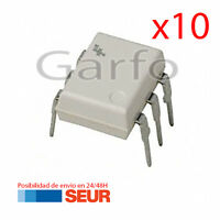 10X Optoacoplador MOC3021