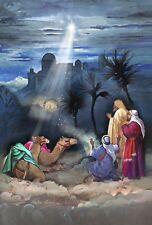 New listing Christmas Star of Bethlehem Wisemen Large House Toland Flag