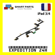 NAPPE BOUTON POWER ON/OFF VOLUME VIBREUR IPAD 3 ET IPAD 4