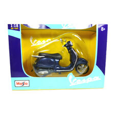 Maisto 31540 Vespa Gran turismo bleu foncé 2003 1:18 Modèles de moto NEUF!°