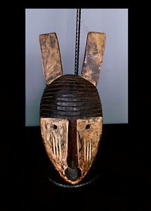 Beautiful Tribal Kwele   Mask    --- Gabon