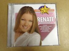 CD STERREN COLLECTIE / RENATE - LIEFDE EN GELUK