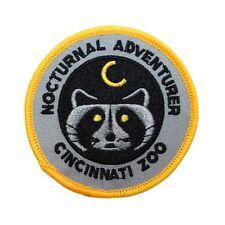 "Ohio ""Cincinnati Zoo Nocturnal Adventure"" Patch Travel Souvenir Iron-On Applique"