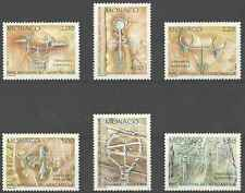Timbres Arts Monaco 1663/8 ** lot 11331