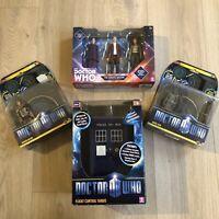 Doctor Who Job Lot Boxed Tardis Twelfth Doctor , Angle Bob , Roman Auton Dr Who