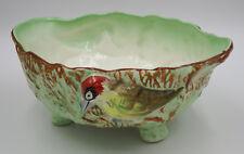 1934 Royal Falcon Ware Weatherby Woodpecker Salad Bowl Rare