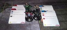 Heroclix Lot of 4 Suicide Squad keyword figures from the Arkham Asylum set
