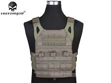 EMERSON JPC Plate Carrier Military Vest Tactical Hunting Airsoft Gear FG EM7344B