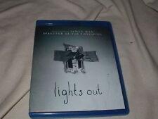 Lights Out (2016) BLU-RAY Horror Supernatural Scary Teresa Palmer Maria Bello