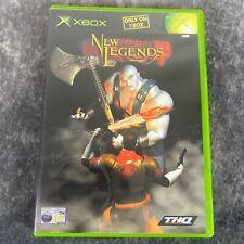 Neue Legenden Original XBOX PAL Spiel Komplett Aktion
