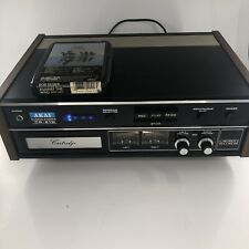 Vintage AKAI CR-81D 8 Track Stereo Tape Cartridge Recorder Player Made in Japan