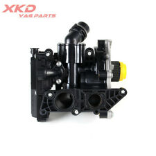 Water Pump Thermostat Coolant Housing Assembly Fit For VW Tiguan Audi A3
