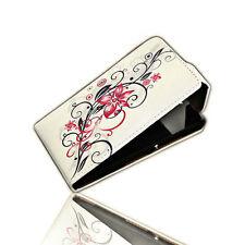 Design 3 Handy Flip Style Tasche Cover Case Hülle Etui  Schutz für Sony Xperia Z