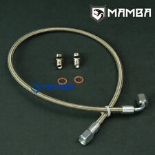 MAMBA Turbo Oil Feed Line Kit For MAZDA MIATA MX-5 323 GTX w/ IHI RHB5 VI58