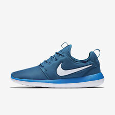NIKE ROSHE TWO Running Trainers Gym Casual - UK 8.5 (EUR 43) Industrial Blue