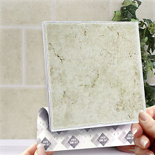 8 Classique Stick On Wall Tile Stickers Transfers For Kitchens Bathrooms