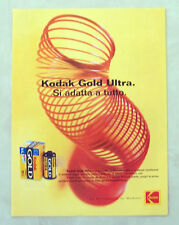 B173-Advertising Pubblicità-2000 - KODAK GOLD ULTRA