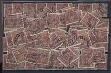 AUSTRALIA 1920 KG5th HEADS 1 1/2d MULTI CROWN 83 stamps