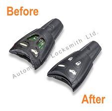 Para defectuoso Saab 4 botón remoto inteligente clave Completo Reparación Restauración Servicio