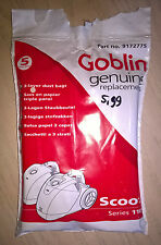 Genuine New Goblin Scoot 110 Vacuum Bags - Part No 9172775